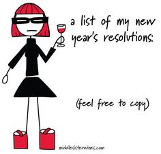 do it yourself new year's wine resolutions