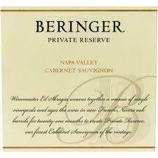 Beringer private reserve cabernet sauvignon