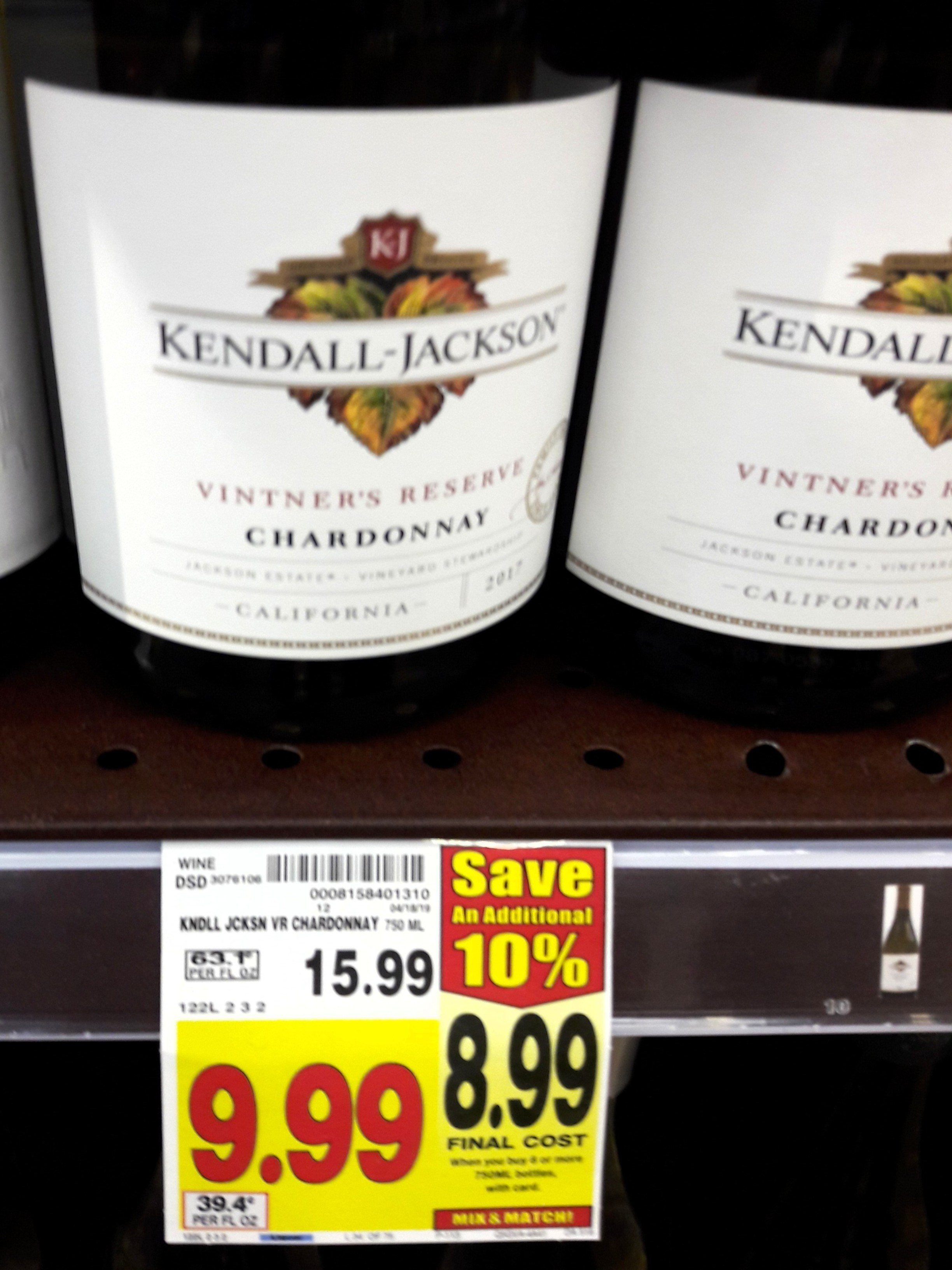California wine prices