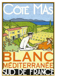Cote Mas Blanc Mediterranee
