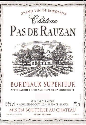 Chateau Pas de Rauzan
