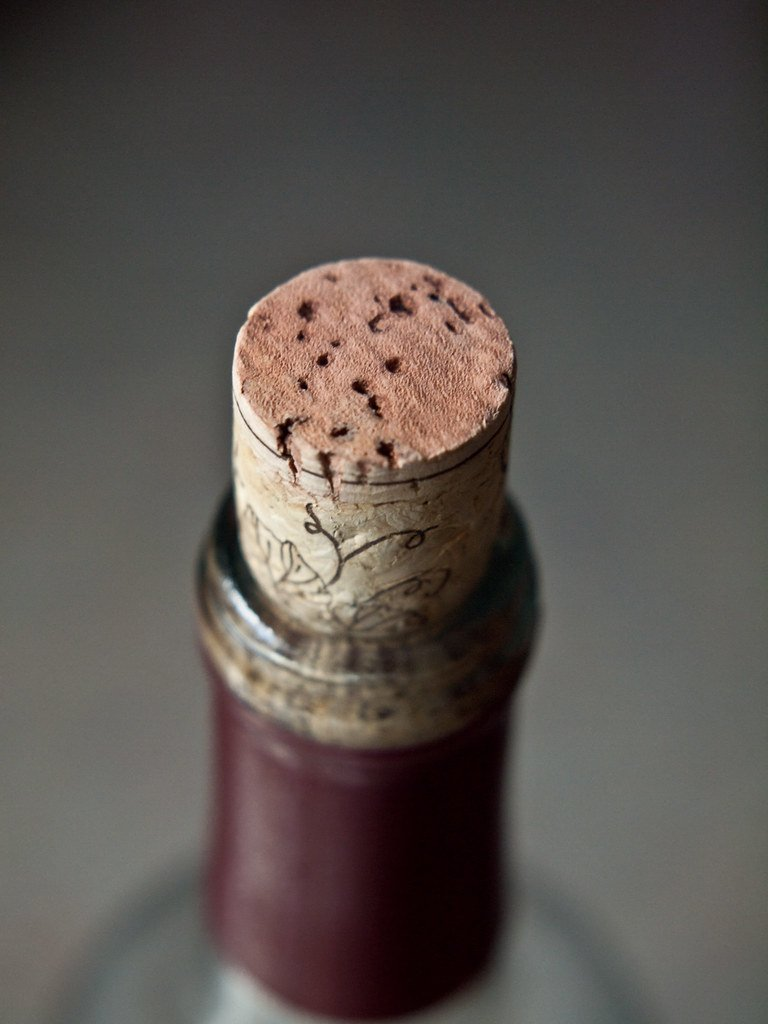 750 ml bottle and cork