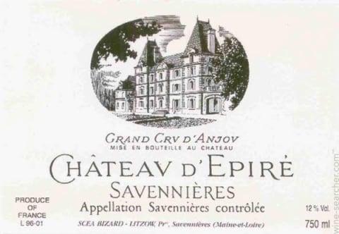 Chateau d'Epire Savennieres