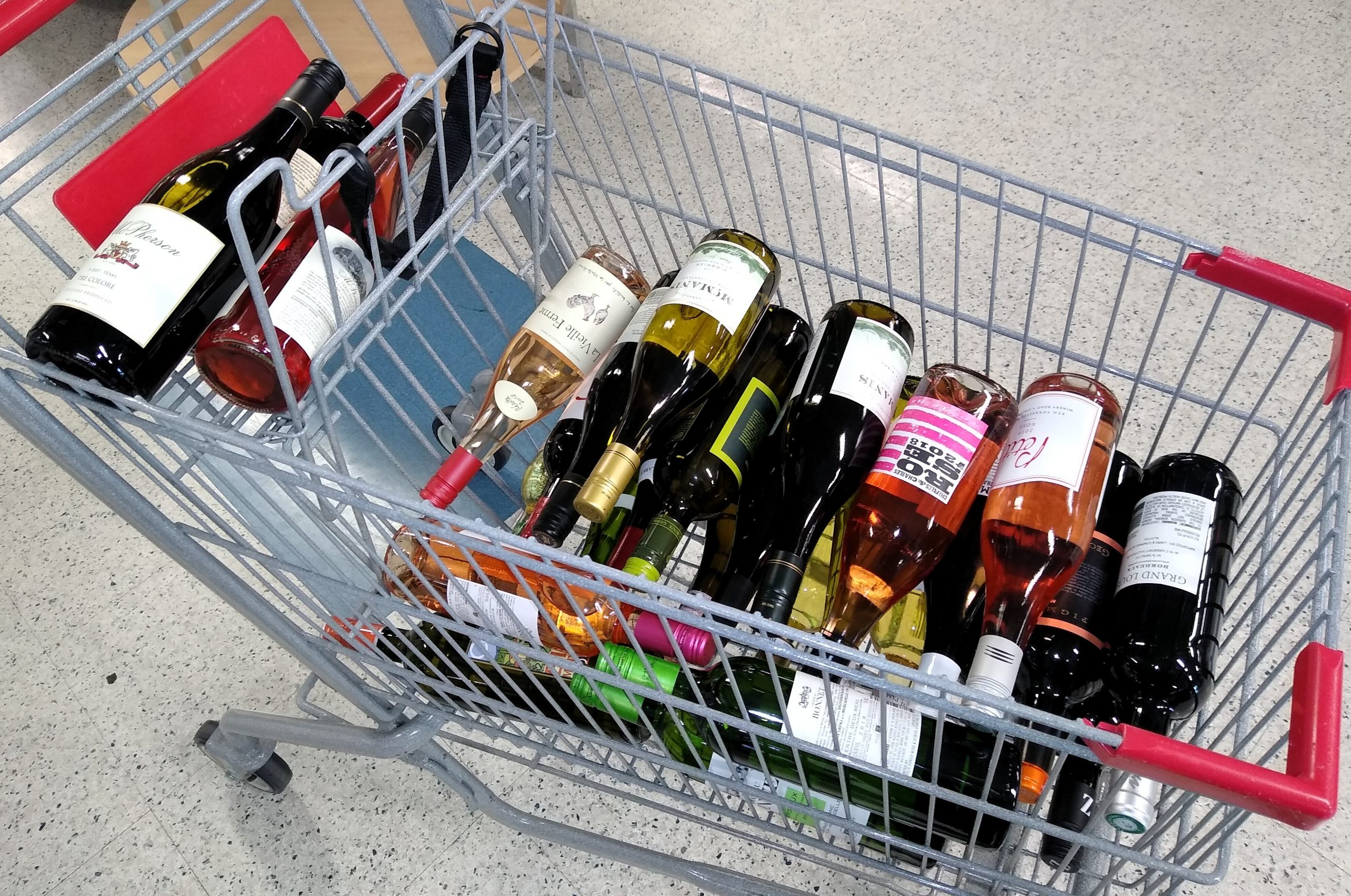 panic wine buying