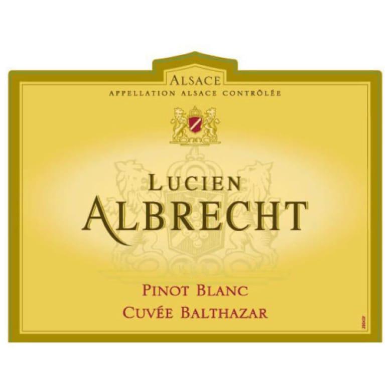 Albrecht Pinot Blanc Cuvee Balthazar