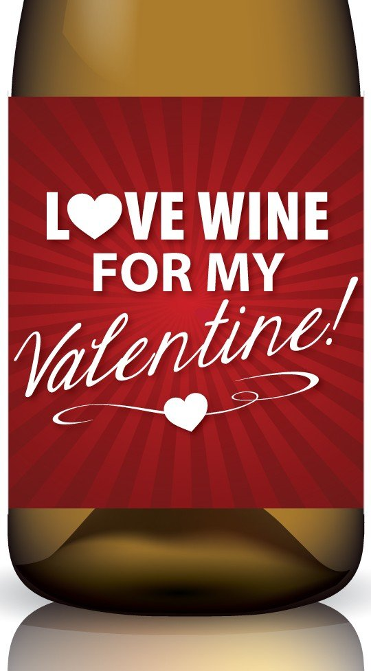 Valentine's Day wine